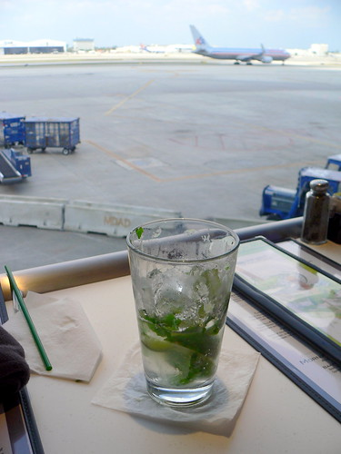 Mojito at the Miami Airport