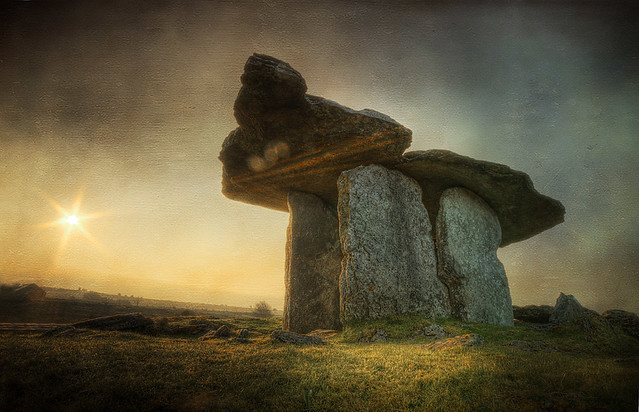 Poulnabrone Dolmen 2 - The Burren, Co Clare