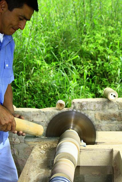 Proceso construcci n muebles en bambu flickr photo - Muebles de bambu ...