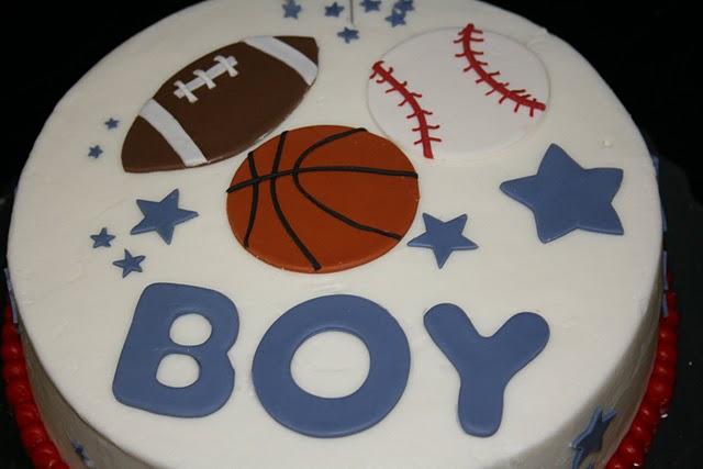 pin sports themed babyshower cake flickr photo sharing cake on