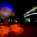 Epcot - Monorail Butterfly by Jeff Krause Photography