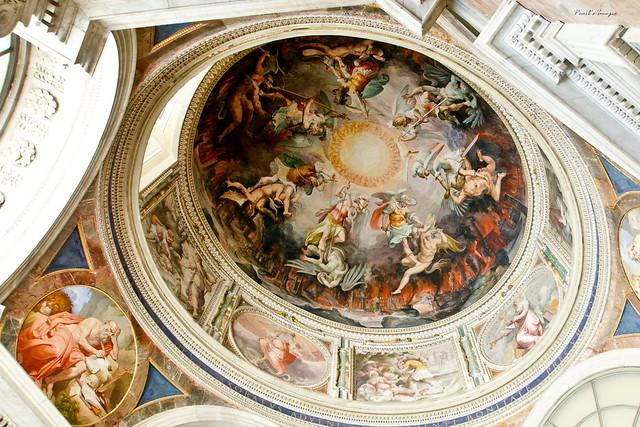 梵諦岡 博物館 天井