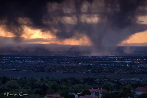 clouds albuquerque storms sunrisesunset