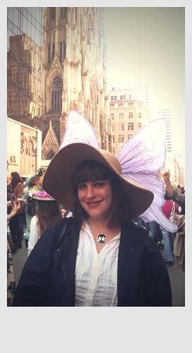 In which I don an Easter bonnet with wings