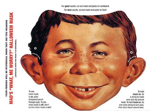 Alfred E. Neuman mask