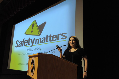 Going to safety talks can help raise awareness.