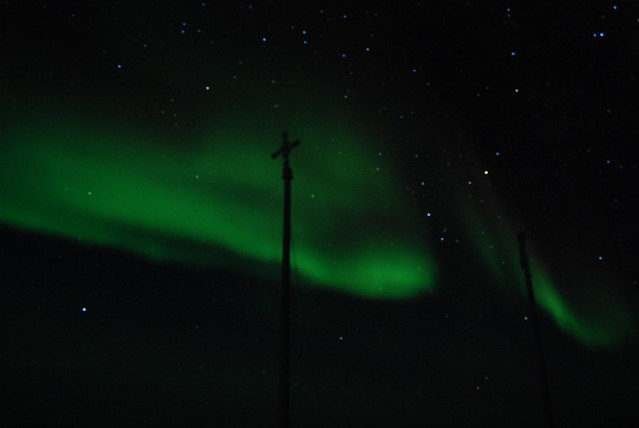 Blurry Auroras April 29