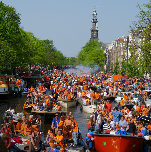 Q-day on the canals of Amsterdam