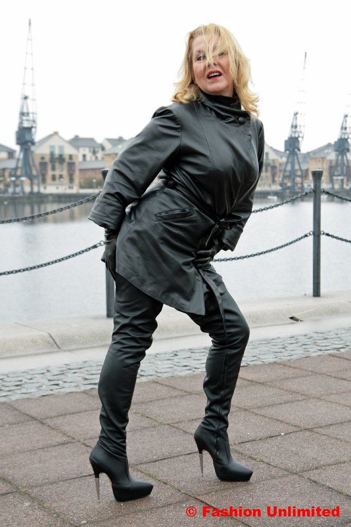 Consider, Mature leather pants heels valuable message
