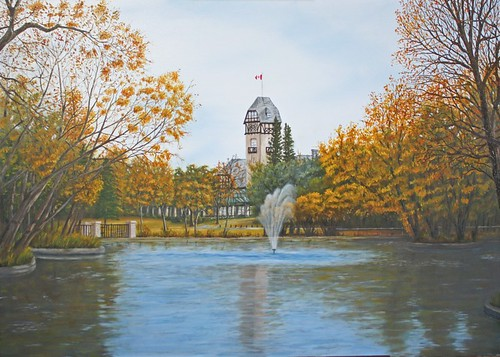 Assiniboine Park Winnipeg [Sold] by Sid's art