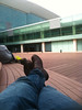 Waiting in Barcelona Airport