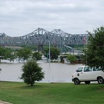 Mississippi River Flooding in Vidalia