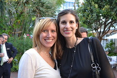 Claudia Volk and Kelly Fayer