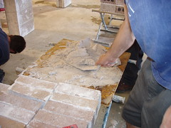 floor, wood, bricklayer, tile, plaster, concrete, brick, flooring,