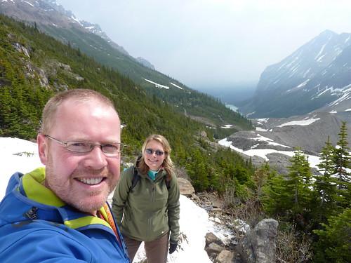 Banff NP - Plain of six  glaciers - 1