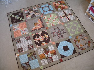 Amy's Creative Side Sampler Quilt Along FINISH!!!