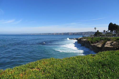 Blue and Green La Jolla Cove