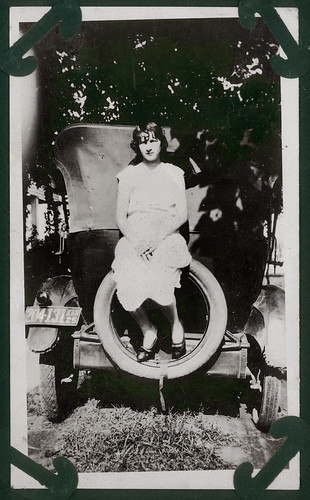 Girl on the spare