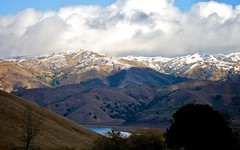 Clouds And Snow Over Calaveras Range (5)