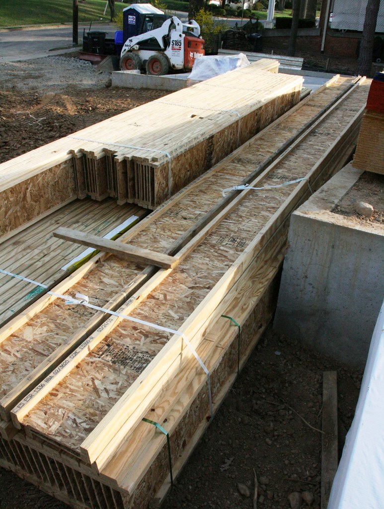 I beam floor joist for Floor joist construction