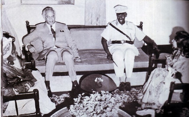 ZAB with President Said Barre of Somalia with their spouses