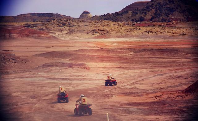 Extra-vehicular activity (EVA) on MDRS site