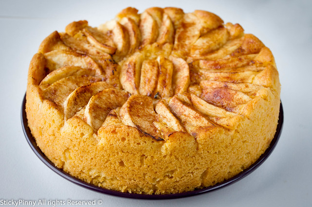 Apple & Custard Tea Cake 2 | Flickr - Photo Sharing!