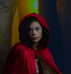 Beautiful Red Riding Hood