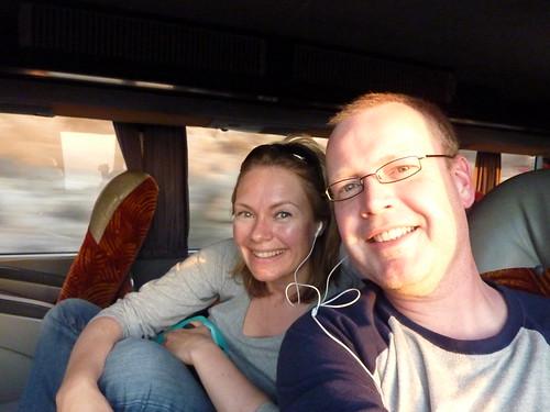 In de bus van La Serena naar San Pedro