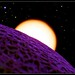 Planet Cantaloupe with Stars by eriksweeklyphoto