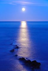 Moonrise - Peveril Point, Swanage (UK)