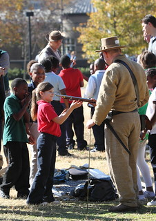Civil War Reenactment - School Children