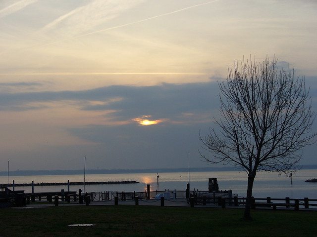 View from the marina at Leesylvania State Park