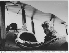 04-02331 Henry H. (Hap) Arnold in  Le Pere biplane Crissy Field, San Francisco