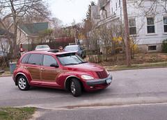 automobile, wheel, vehicle, chrysler pt cruiser, city car, compact car, chrysler, land vehicle,