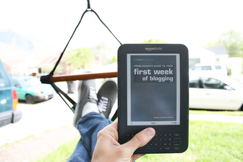 On My Kindle: ProBlogger's Guide to Your First Week of Blogging