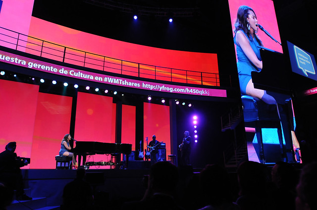 Alicia Keys at the Walmart Shareholders Meeting 2011