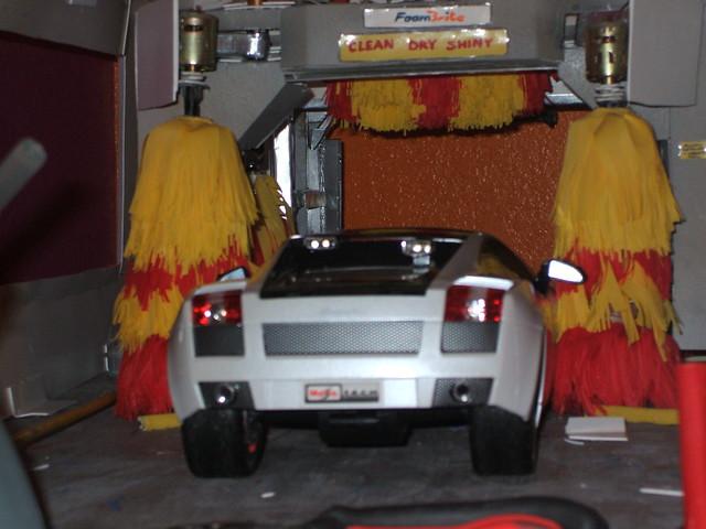 Scale Model Car Wash Ryko