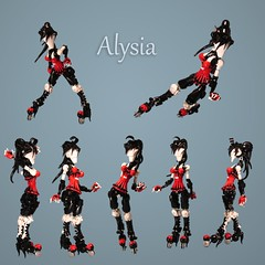 Articulated Alysia