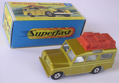 Matchbox Superfast Land Rover Safari No. 12
