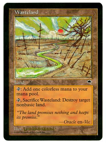 mtg wasteland