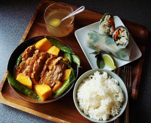 Duck and Mango Curry