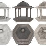 Gazebo 3 Styles 3D Models