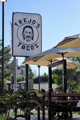 Patio At Trejo's Taco's LA