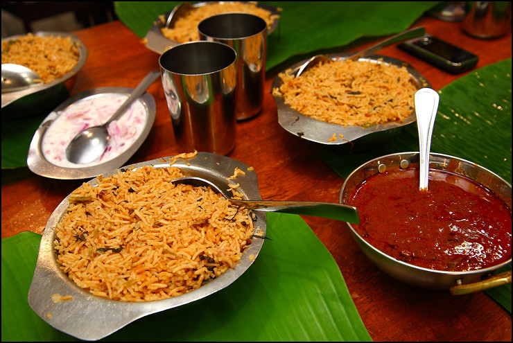 Anjappar authentic chettinad restaurant bangsar for Anjappar chettinad south indian cuisine