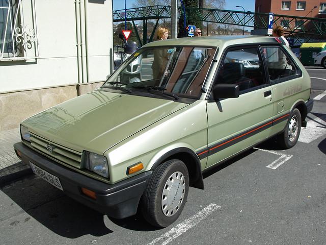 1987 Subaru Justy 4WD