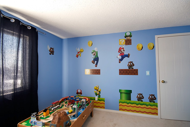 elliot 39 s bedroom super mario by rob smith photography flickr
