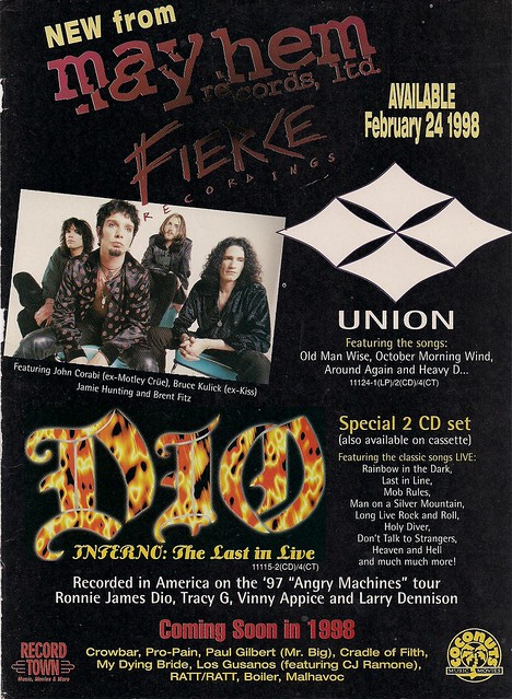 02-24-98 Union Debut CD Ad