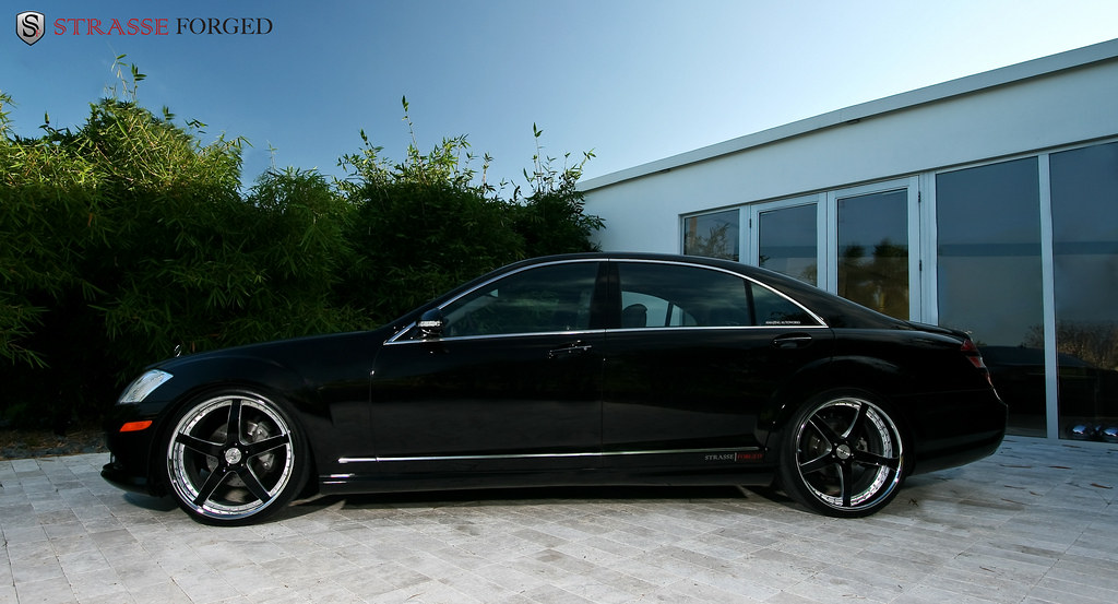 Strasse forged wheels mercedes s550 a photo on flickriver for Mercedes benz s550 rims