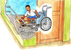 Accessible latrine features (Tanzania)